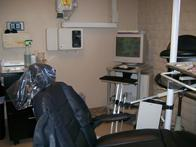 Another view of patient care room.